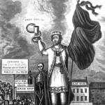 obrázek krále s korbelem