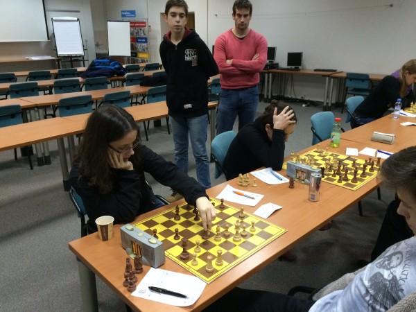 Zadní šachovnice