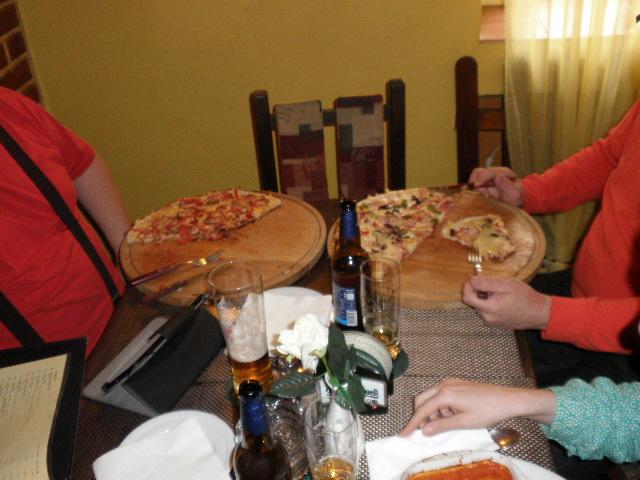 Pizza pro pravý Unichessáky!