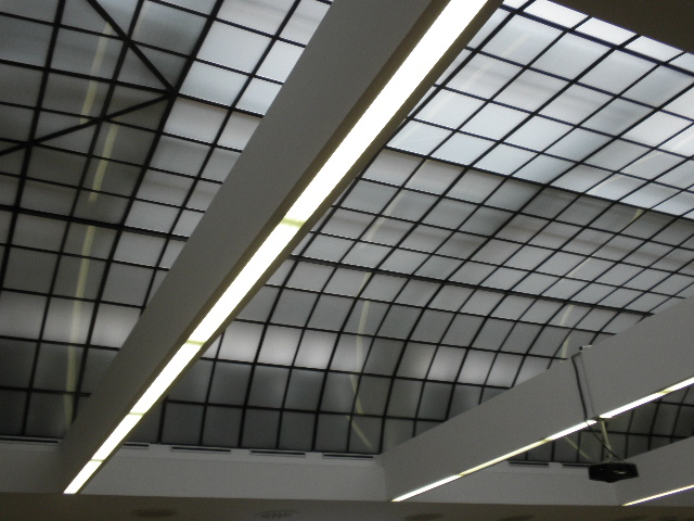 Zajímavý strop